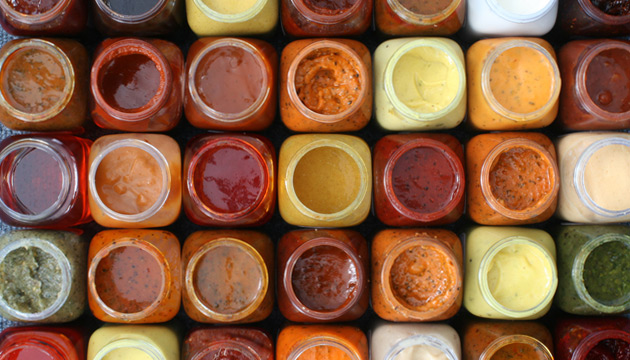 image of sauces