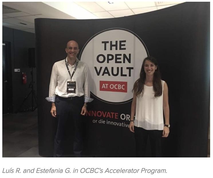 Luís R. and Estefania G. in OCBC's Accelerator Program..jpg