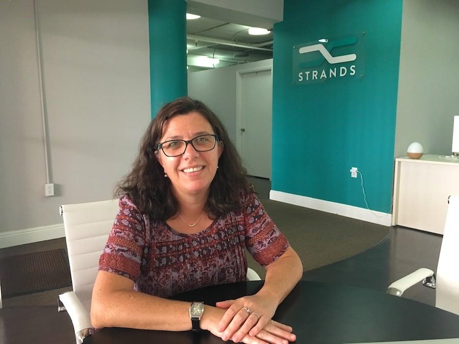 Zoe Plasencia in Strands Miami Office